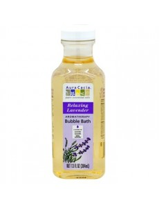 아로마테라피 버블 배스 릴렉싱 라벤더 384 ml