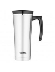 베큠 트래블 머그 컵 블랙 470 ml