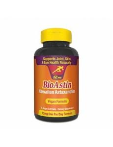 바이오아스틴, 하와이안 아스타잔틴 12 mg 75 식물성 소프트젤