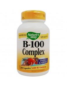 비타민B 콤플렉스(B2 코엔자임 함유), 100 캡슐