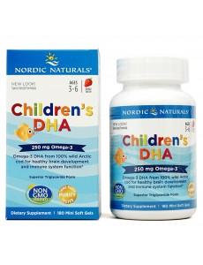 어린이용 DHA 250mg (딸기맛), 180 츄어블 소프트젤