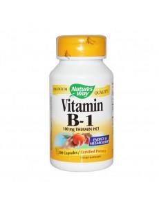 비타민 B-1, 100 캡슐