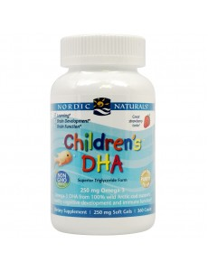 어린이용 DHA 250mg (딸기맛), 360 츄어블 소프트젤