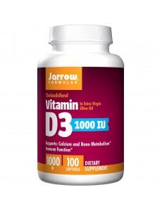 비타민 D3, 1000IU, 100 소프트젤