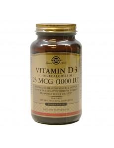 비타민 D3 (콜레칼시페롤) 1000 IU 250 소프트젤