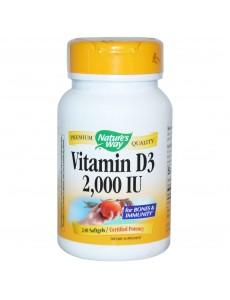 비타민 D3 2000 IU, 240 소프트젤