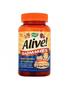 얼라이브 어린이용 종합비타민, 90 구미