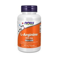 L-아르기닌, 500mg, 100 캡슐