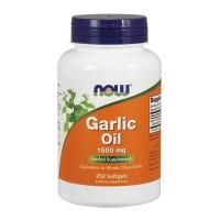 마늘유 (갈릭오일) 1,500 mg, 250 소프트젤