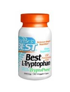 L- 트립토판 (TryptoPure™) 500mg, 90 야채캡슐