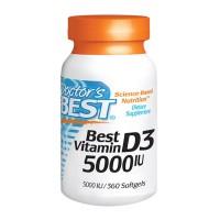 베스트 비타민D 5000 IU 360 소프트젤