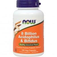 80억 아시도필러스 & 비피더스 유산균, 120 야채캡슐