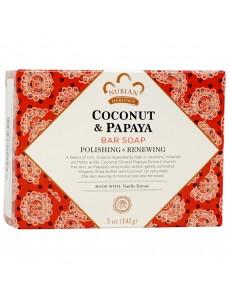 코코넛 & 파파야 바닐라 콩 비누 141g