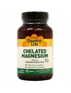 킬레이티드 마그네슘 250 mg 90 타블렛