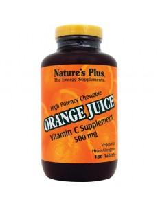 오렌지쥬스 비타민C 500 mg 180 타블렛