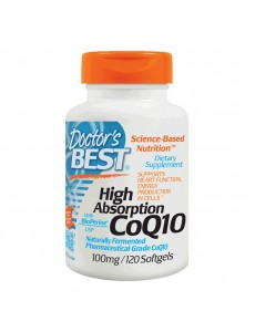 Doctors Best 코엔자임 Q10 with 바이오페린 100 mg 120 소프트젤
