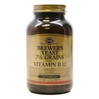 맥주효모 7 1/2 곡물과 비타민 B12 250 타블렛
