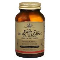 에스터 C 500 mg 100 야채 캡슐
