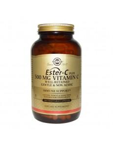 에스터 C 500 mg 250 야채 캡슐