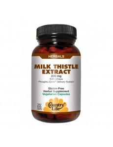 밀크시슬 추출물 200 mg 60 야채캡슐