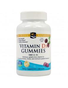 비타민 D3 구미 와일드베리 1000 IU 120 구미
