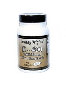 비타민 E-400 100%내추럴 토코페롤, 90 소프트젤