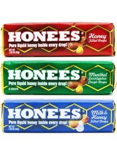 3종류 세트 - 달콤한 꿀이 들어있는 캔디
