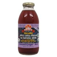 애플 사이더 비니거 드링크, 콩코드 그레이프 & 아사이베리 (식초음료) 473 ml