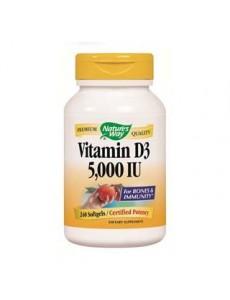 비타민 D3 5,000 IU, 240 소프트 젤