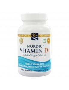 비타민 D3 1,000 IU, 오렌지맛 120 소프트젤