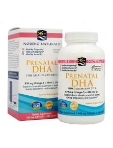 임산부용 DHA  오메가-3 830 mg, 피쉬 젤라틴 180 소프트젤