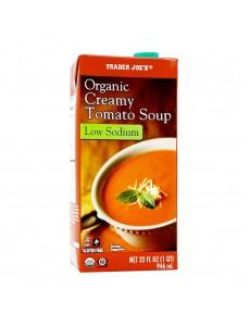 오가닉 크림 토마토 수프, 로우 나트륨 946 ml