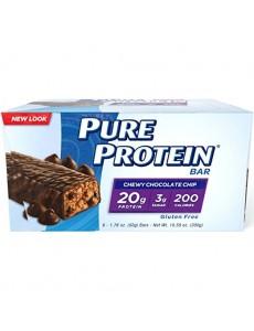 퓨어 프로틴바, 츄이 초콜릿칩 6 개입