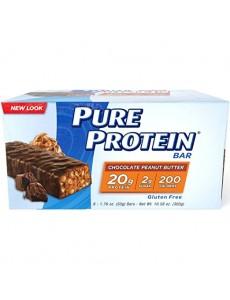 퓨어 프로틴바, 초콜릿 피넛버터 6 개입