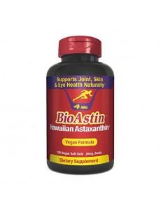 바이오아스틴, 하와이안 아스타잔틴 4 mg 120 식물성 소프트젤