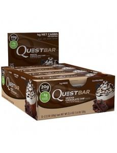퀘스트바 프로틴바, 모카 초콜릿칩 12개입 박스