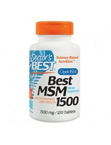 베스트 MSM 1,500 mg 120 타블렛