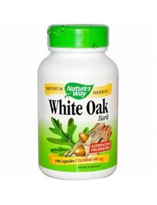 화이트 오크 바크 (흰 떡갈나무 껍질) 480 mg 100 캡슐
