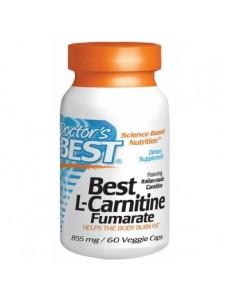L-카르니틴 푸마르산 855mg 60 베지캡슐
