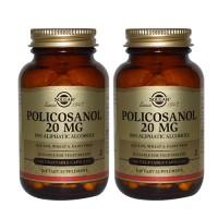 폴리코사놀 20 mg 100 야채 캡슐 2개세트