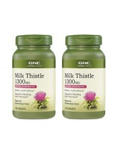 밀크시슬 1300 mg 120 캡렛 2개세트