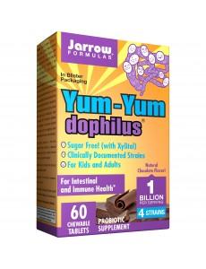 자로우 포뮬러스 얌얌 도피러스 10억 유산균 초콜릿맛 60 츄어블 타블렛