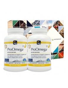 프로오메가 650 EPA/450 DHA 1000 mg 180 소프트젤 2개 세트 (기프트 박스 포함)
