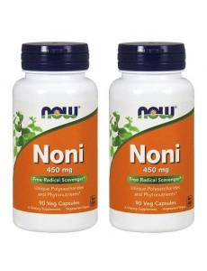 [Now Foods] 나우푸드 노니 450 mg 90 야채캡슐 2개 세트
