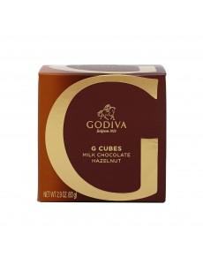 고디바 G 큐브 밀크 초콜릿 헤이즐넛 10 개입 82 g