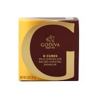 고디바 G 큐브 밀크 초콜릿 솔티드 카라멜 가나슈 10 개입 79 g