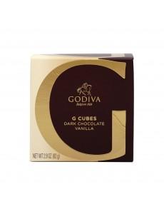 고디바 G 큐브 다크 초콜릿 바닐라 10 개입 82 g