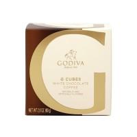 고디바 G 큐브 화이트 초콜릿 커피 10 개입 79 g