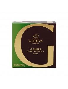 고디바 G 큐브 다크 초콜릿 민트 10, 개입 82 g