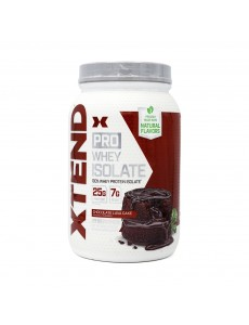 엑스텐드 프로웨이 아이솔레이트 단백질보충제 초콜릿 라바 케이크 23 서빙 826 g
